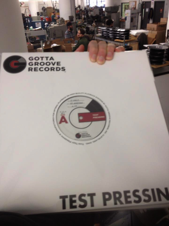 Test Pressing at GG